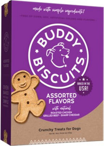 Cloud Star Assorted Flavors Baked Buddy Niscuirs 16 oz.