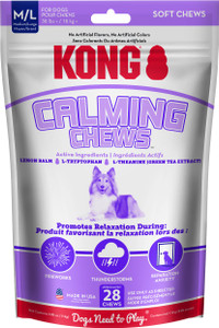 KONG Calming Chews for Medium to Large  Dogs