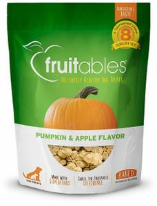 Fruitables Pumpkin and Apple Crunchy Dog Treats