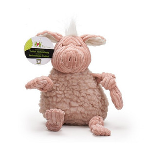 HuggleHounds FlufferKnottie Penelope the Pig - Large