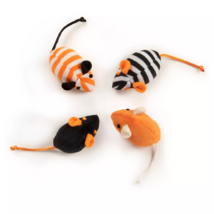 Halloween mouse cat toy