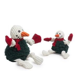 Hugglehounds Fluffer Knotties Snowman Large