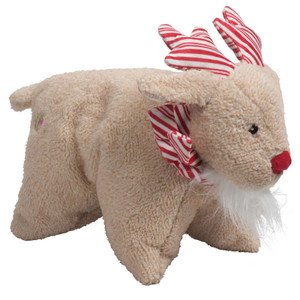 Hugglehounds Peppermint Squooshie Reindeer Large