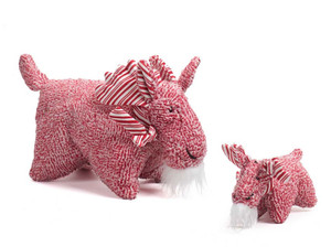 Hugglehounds Peppermint Squooshie Moose Small with Tuffut