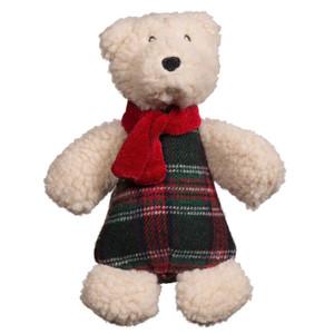 Hugglehounds Chubbie Buddie Huggle Fleece Polar Bear Large