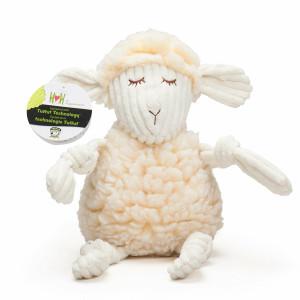 HuggleHounds FlufferKnottie Louise the Lamb - Small