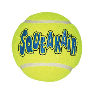 KONG Air Dog Large Squeaker Tennis Ball