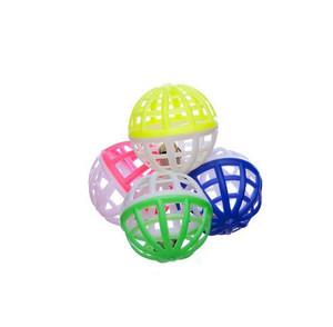 Jingle Lattice Ball Cat Toys 4 Pack