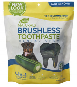 Ark Naturals Brushless Toothpaste Dental Chew - Large