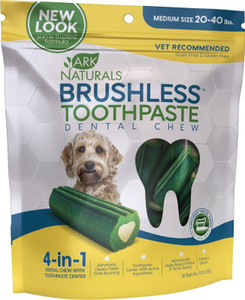 Ark Naturals Brushless Toothpaste Medium for dogs 20-40 lbs