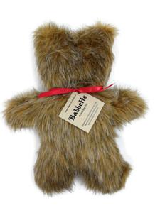 Babbette Bear dog toy-Made in USA plush dog toy