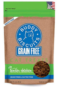 Cloud Star Grain Free Soft and Chewy cat treats-Chicken