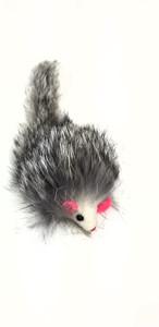 Boca Pet Furry Rattle Mouse USA cat toy