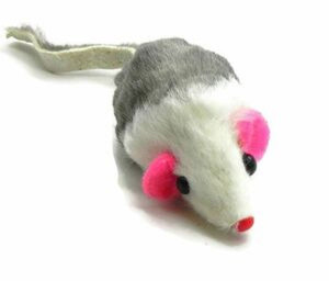 Boca Real Fur Mouse 2 inch