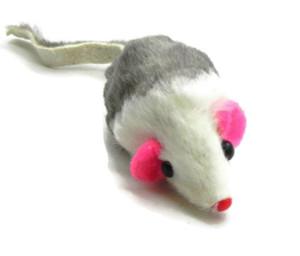 Boca Fur Rattle Mouse Cat Toy