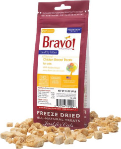Bravo Healthy Medleys Chicken cat treats 1.5 oz.