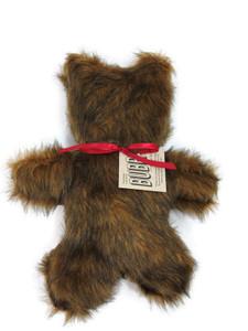 Bubba Fur Bear dog toy-Made in USA plush dog toy