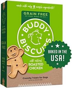 Cloud Star Grain Free Baked Buddy Biscuits Dog Treats Rotisserie Chicken
