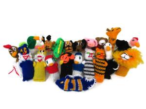 Barn Yarn Hand Knit Wool Cat toy with catnip