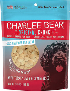 Charlee Bear Turkey Liver and Cranberries Dog Treats