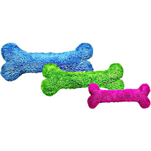 Cycle Dog Duraplush Bone Small USA Dog Toy