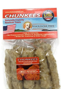 Wholesome Hide Chunkees with Sweet Potato 6 oz.