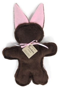 Cocoa Bunny Made in USA dog toy