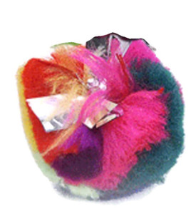 Turbo Crinkle Ball Cat Toy