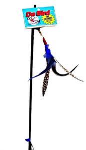 Go Cat Da Bird Interactive Feather Wand Cat Toy