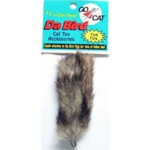 Go Cat Da Bird Fur Fun Attachment for DaBird cat toy refill lure