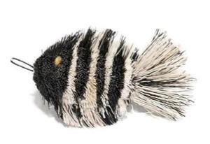 Go Cat Da Fish- Zebra Refill for Cat Catcher Accessory