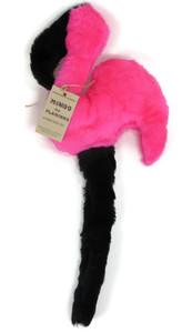 Large Flamingo plush dog toy-Made in USA