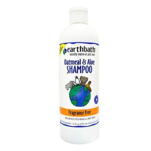 Earthbath Oatmeal and Aloe Pet Shampoo Fragrance Free