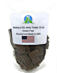 Mickey's Elk Jerky Dog Treats 12 oz.