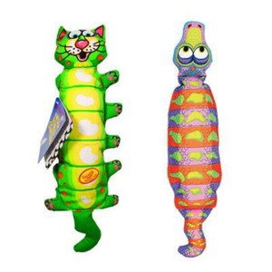 Fat Cat Water Bottle Crunchers Dog Toy