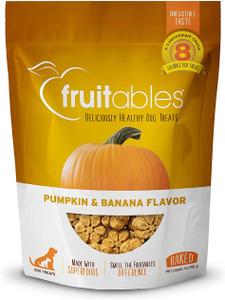 Fruitables Pumpkin and Banana Crunchy Dog Treats