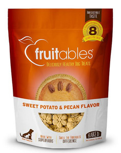 Fruitables Sweet Potato and Pecan Crispy Dog Treats