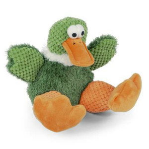 Go Dog Checkers Duck Dog Toy-Large