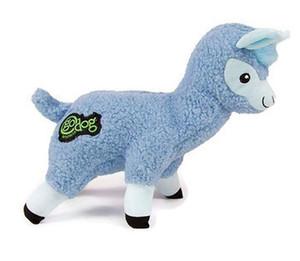 GoDog Fleece Llama Large Dog Toy