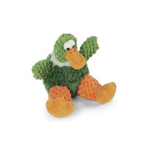 GoDog Just For Me Checkers Duck Dog Toy