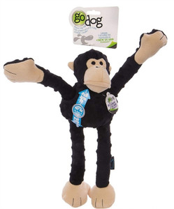 GoDog Crazy Tugz Mr. Monkey Black Large