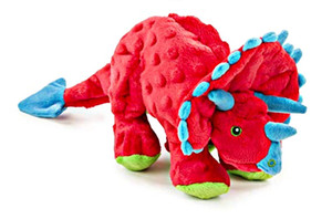 Go Dog Triceratops With Chew guard- Red Large