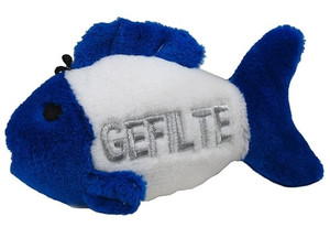 Multipet Talking Gefilte Fish dog toy