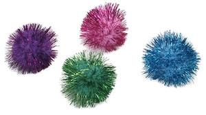 Rascals Glitter Pom Cat Toy