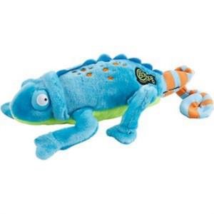 GoDog Chameleon Dog Toy with Chew Guard