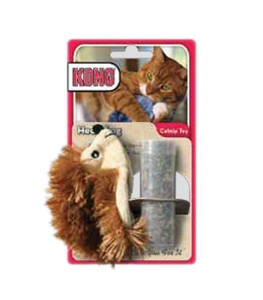 KONG Refillable Hedgehog Catnip Toy