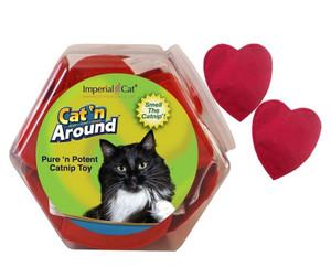 Imperial Cat Catnip Heart Cat Toy