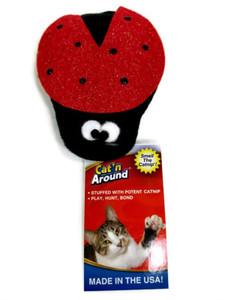 Imperial Cat Cat'n Around Ladybug Catnip Cat Toy