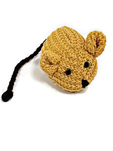 Imperial Cat Knit Mouse with catnip cat toy