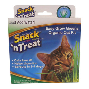 Imperial Cat Easy Grow Greens Organic Oat Kit